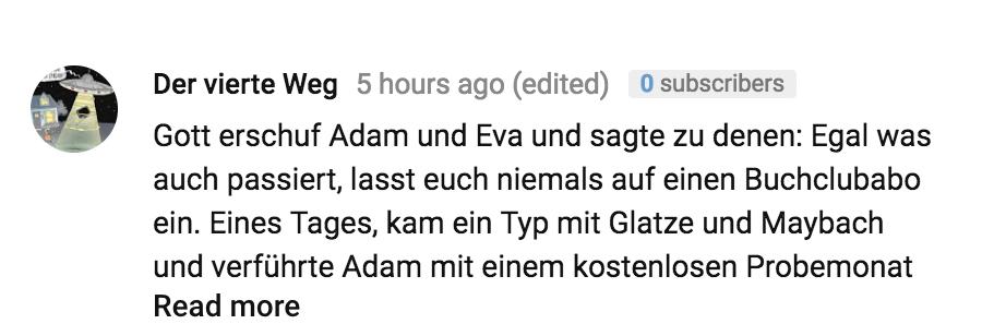 Adam, Eva & der BuchClub