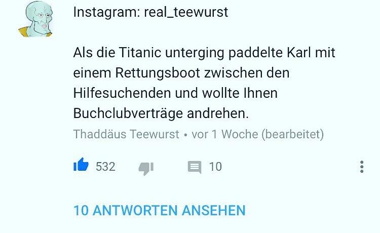Buchclub und die Titanic Teil 2