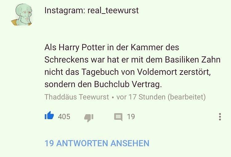Harry Potter und die Kammer des Buchclubs